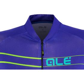 Alé Cycling Solid Ergo SS Jersey Dame pure blue-turquoise